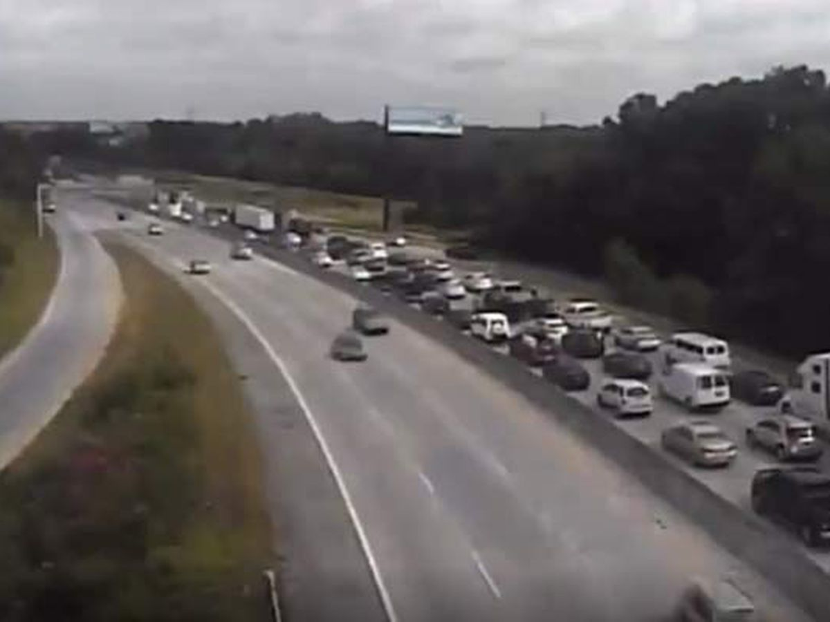 All westbound lanes of I-26 reopen after crash