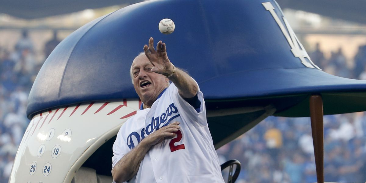 Tommy Lasorda, fiery Hall of Fame Dodgers manager, dies at 93