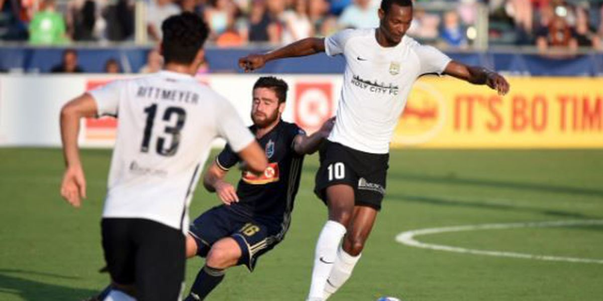 Battery, North Carolina FC split points in Cary