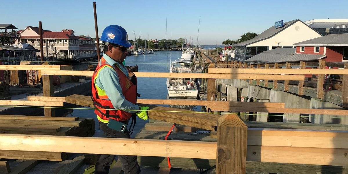 Shem Creek pedestrian bridge could be opening sooner than originally thought