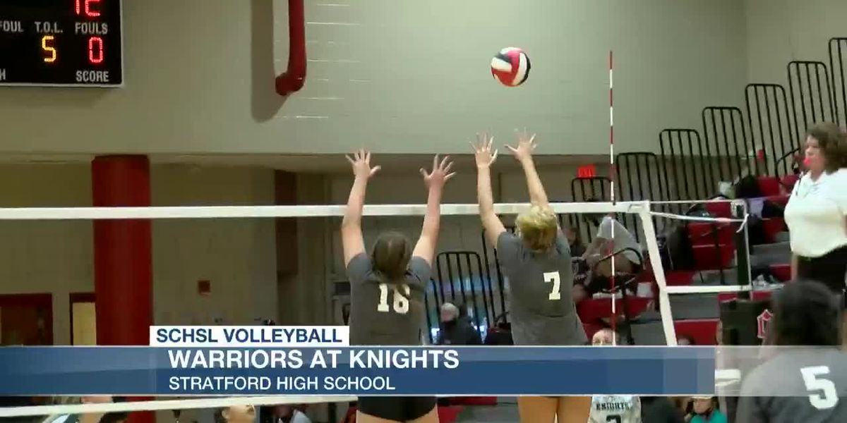VIDEO: Wando beats Stratford in volleyball on Tuesday
