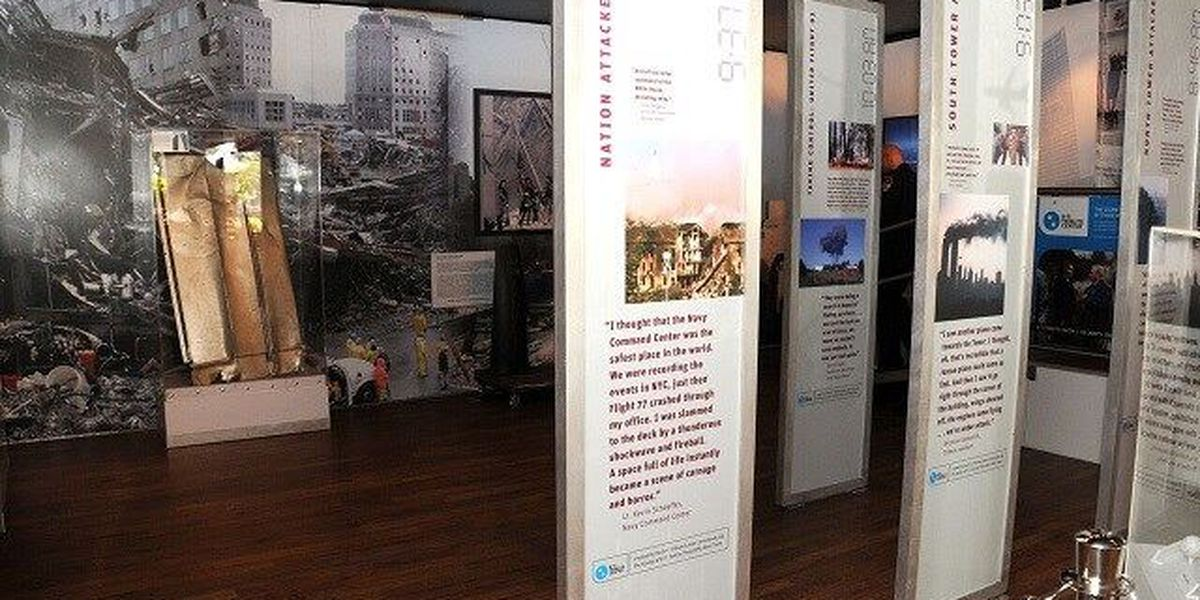 Mobile 9/11 exhibit makes stop at Patriots Point
