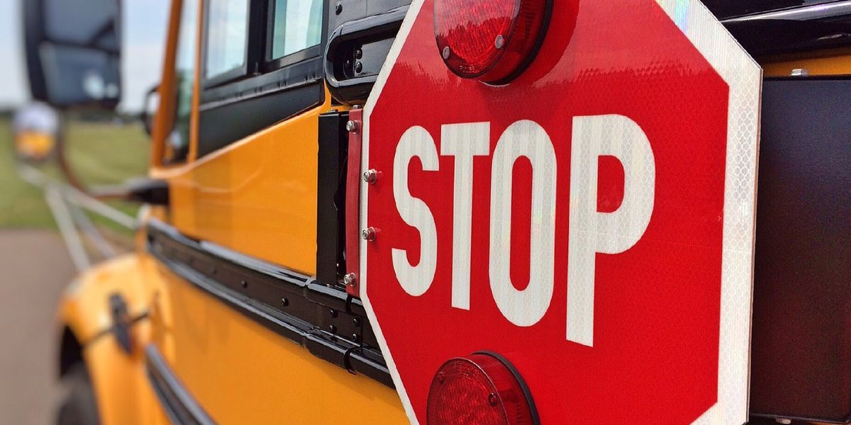Conway Middle School student struck by vehicle at bus stop