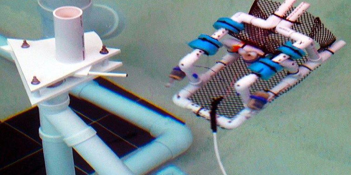 Local students compete in underwater robotics challenge