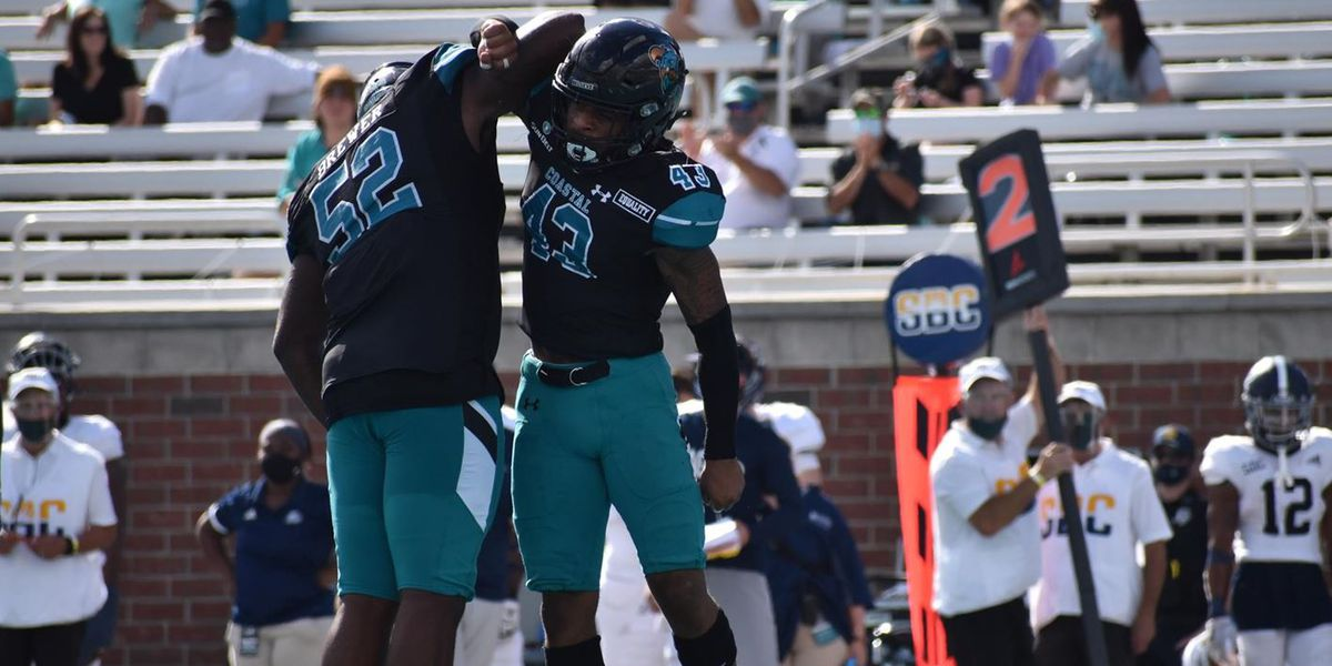 No. 24/25 Coastal Remains Undefeated with 28-14 Win Over Georgia Southern