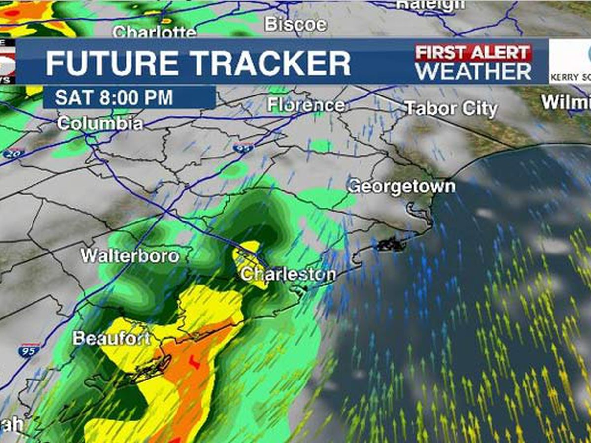 FIRST ALERT: Chance of showers, gusty winds late Saturday afternoon, evening