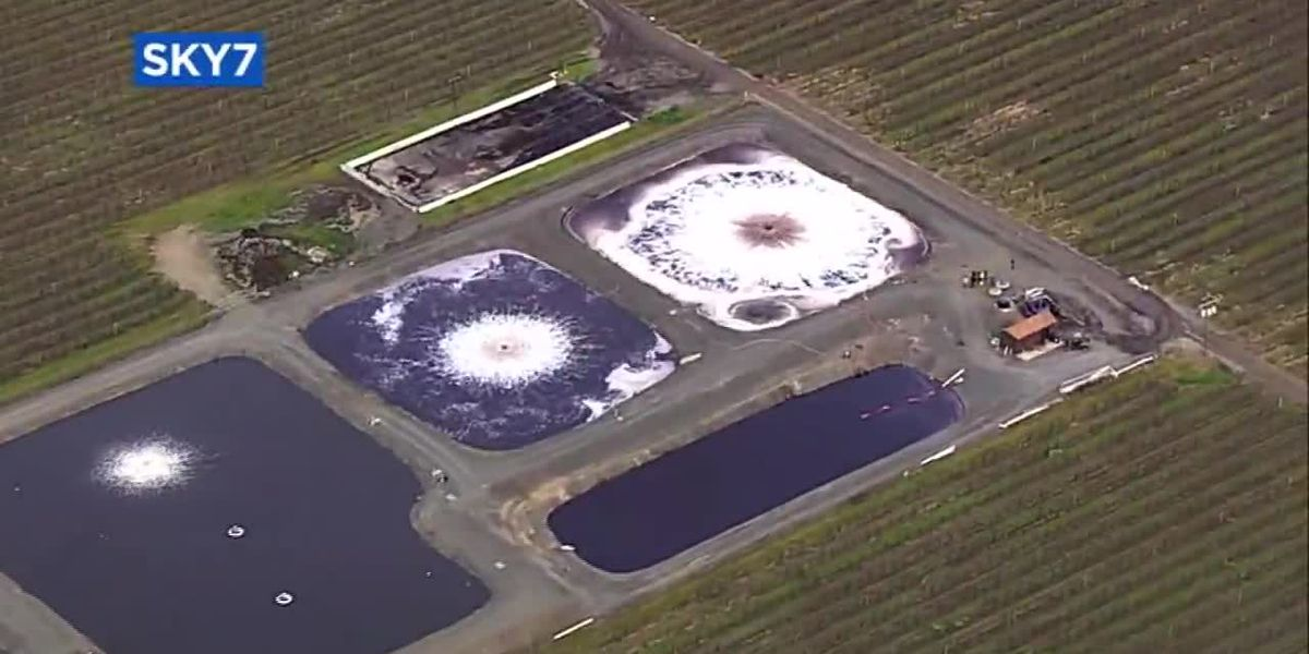 97,000 gallons of wine spill into creek near Calif. vineyard
