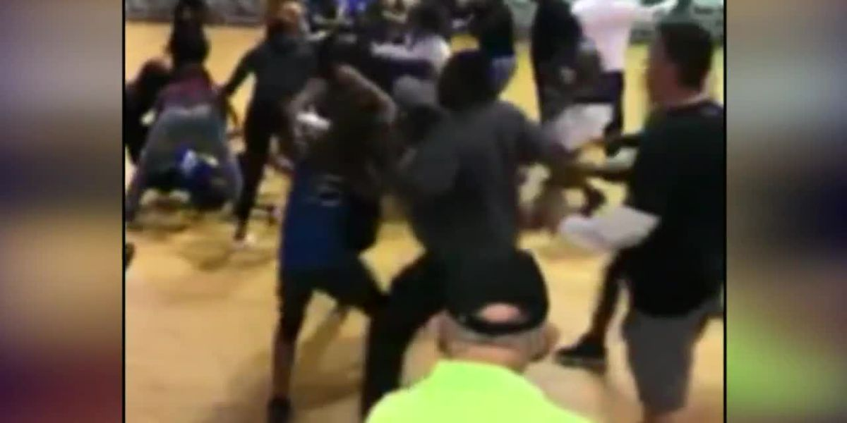 High school student punched by adult during brawl