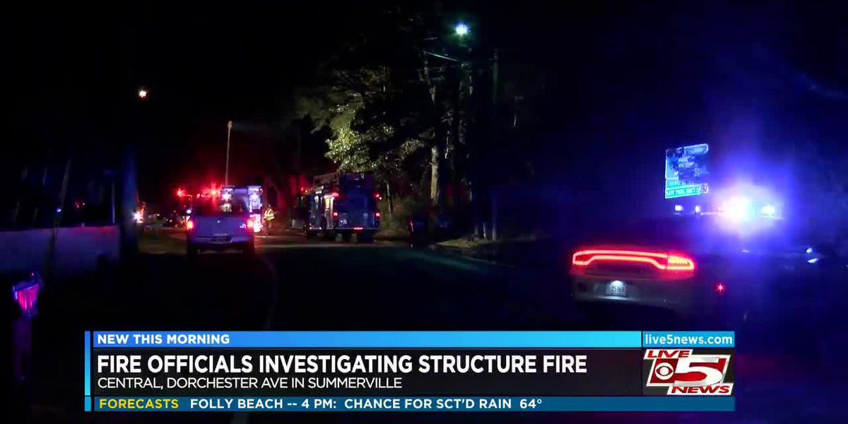 VIDEO: Crews working to determine cause of fires in Summerville, North Charleston