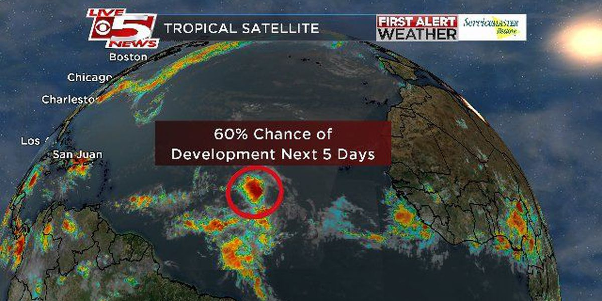 FIRST ALERT WEATHER: Atlantic tropical disturbance closer to forming