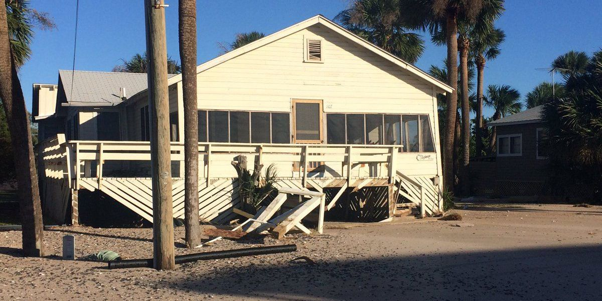 Edisto Beach clears streets for Thursday re-entry