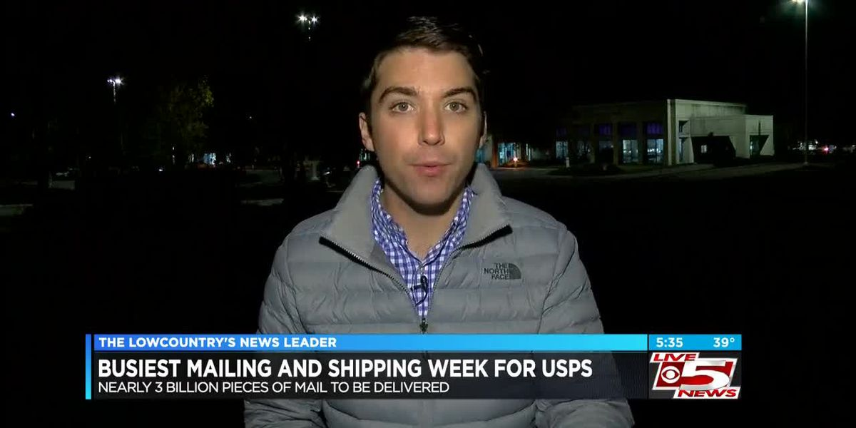 VIDEO: Shipping and mailing deadlines approaching quickly during busiest week for USPS