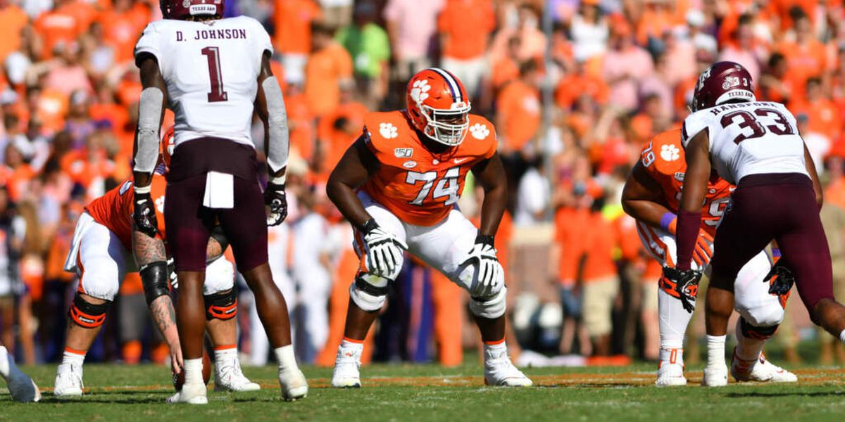 Ft. Dorchester alum John Simpson 1 of 3 Clemson players picked on final day of NFL Draft