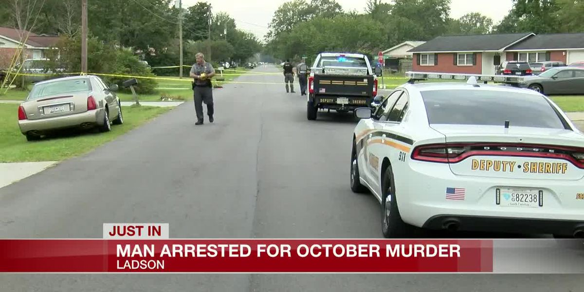 VIDEO: Deputies arrest man wanted for fatal shooting at Ladson neighborhood
