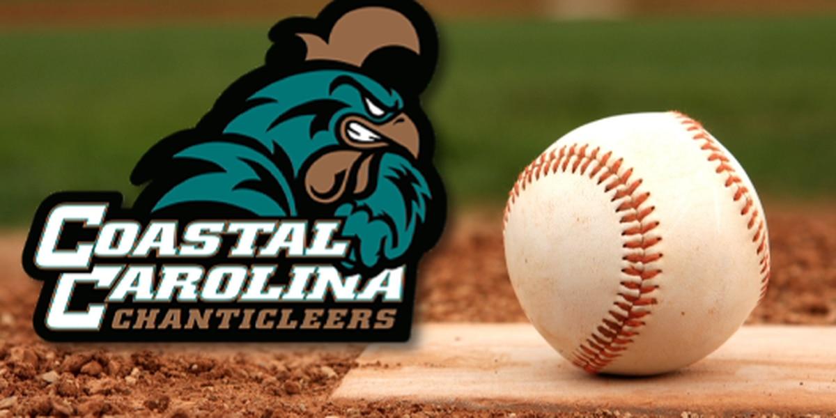 Coastal Baseball Falls at UTA 5-1 on Monday Afternoon