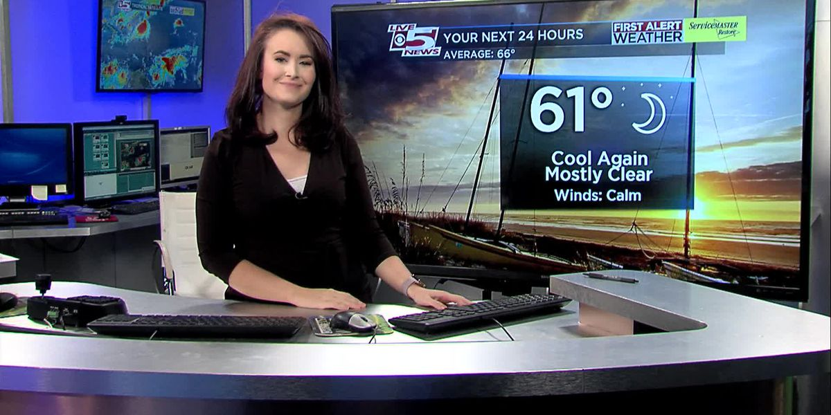 VIDEO: Your Saturday evening forecast