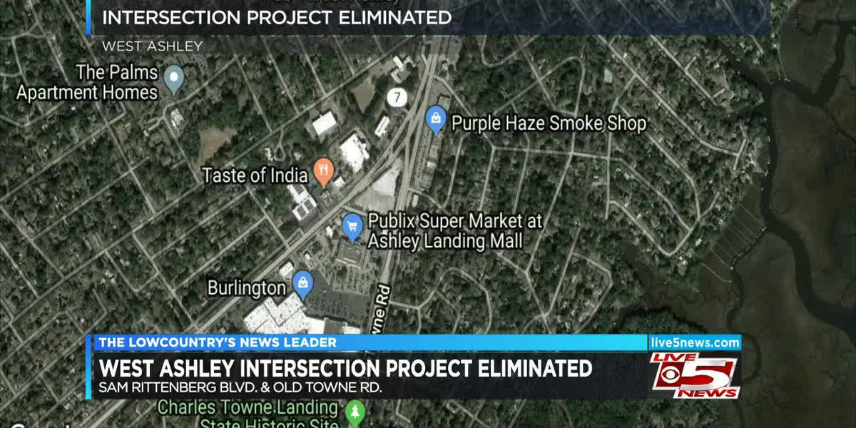 VIDEO: County dropping West Ashley intersection project after feedback