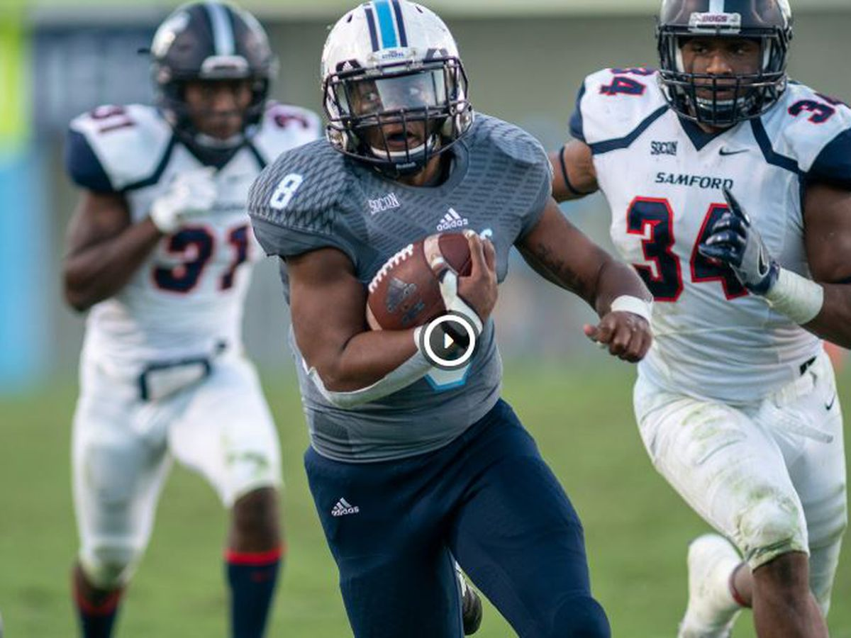Ward's 4 TDs keys 2nd half comeback for The Citadel
