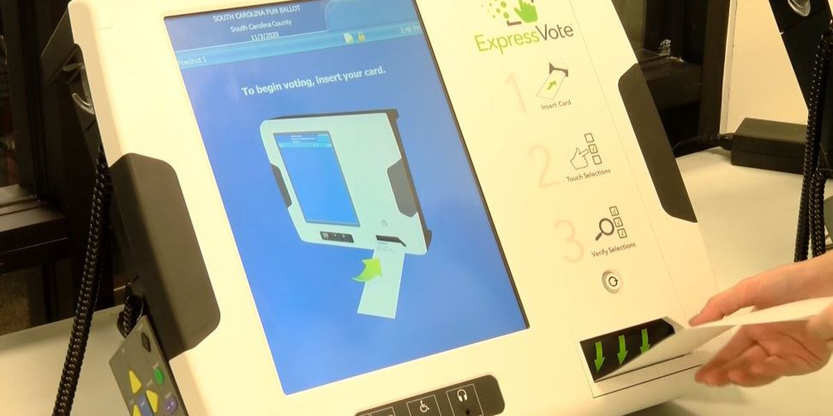 'No major issues' with new voting machines reported in Charleston County
