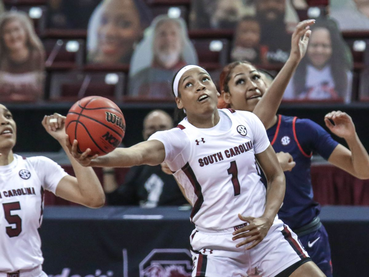 No. 5 South Carolina wins 13th straight over Ole Miss, 68-43