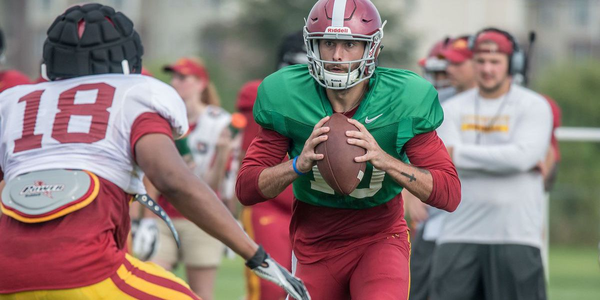 Former Stratford Knight Park taking leave from Iowa State football team