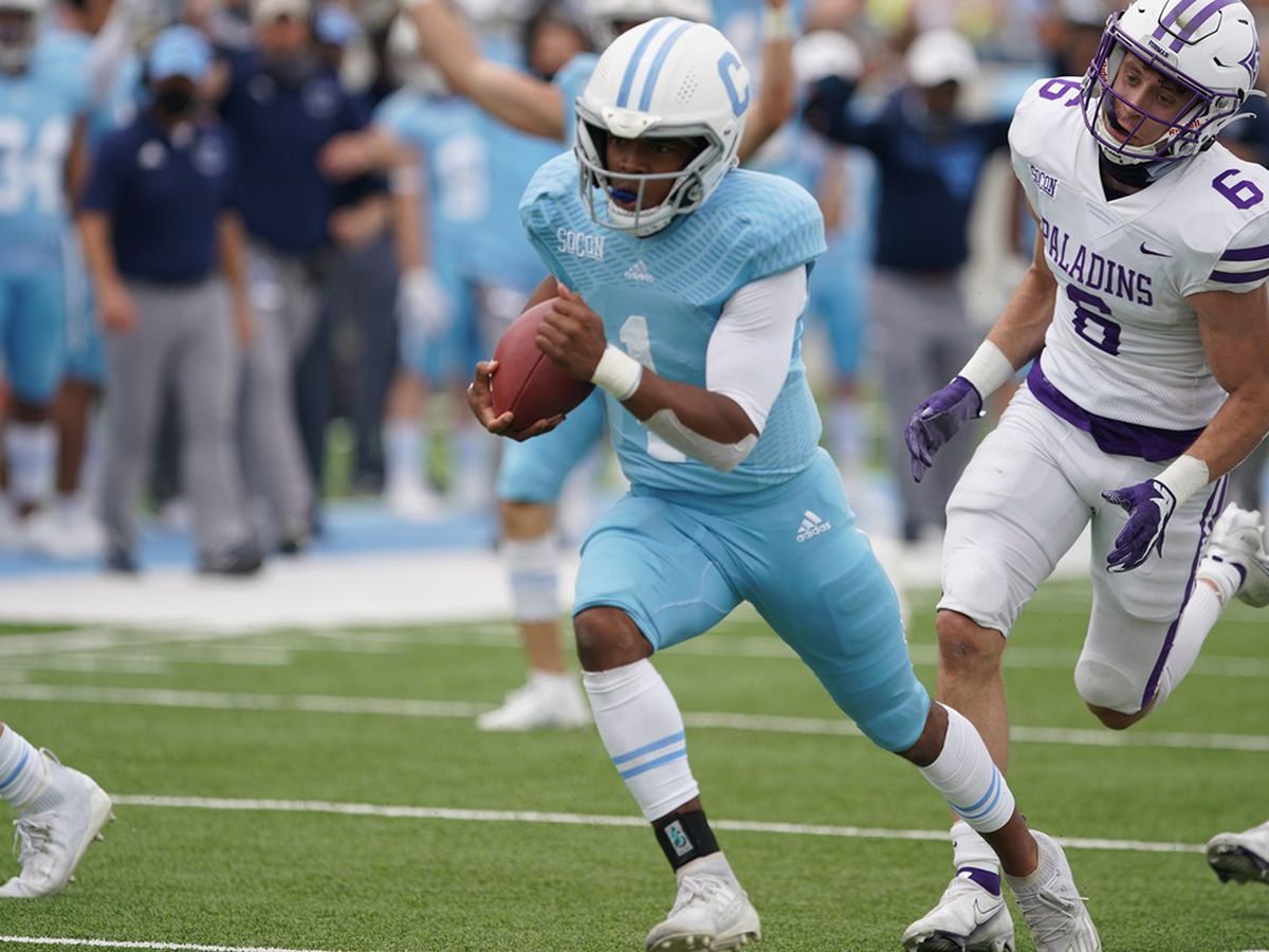 The Citadel's Adams Named SoCon Offensive Player of the Week