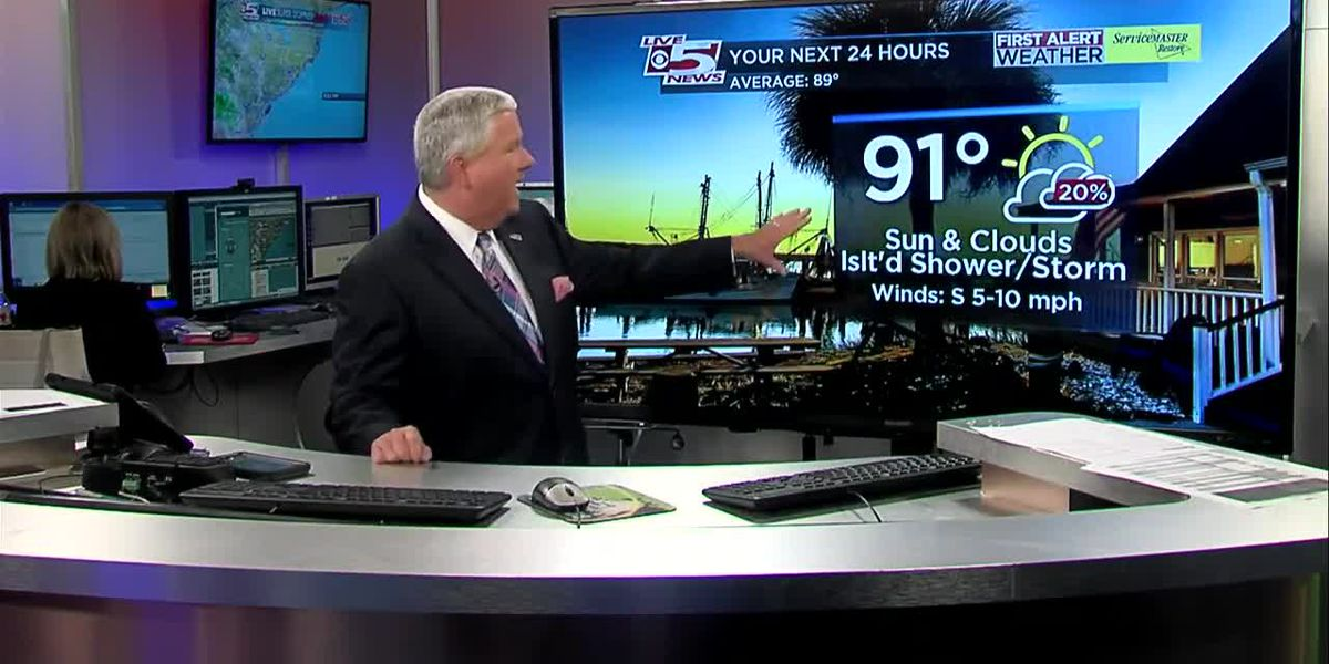 VIDEO: Monday night weather forecast
