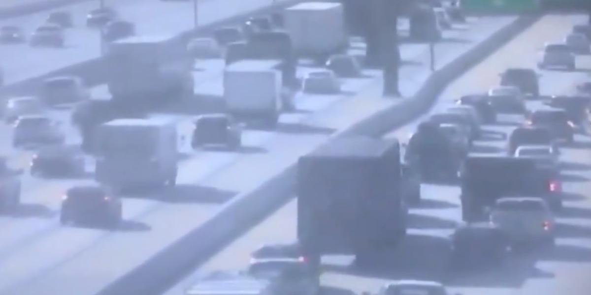 Crash blocks all lanes of exit ramp off I-26