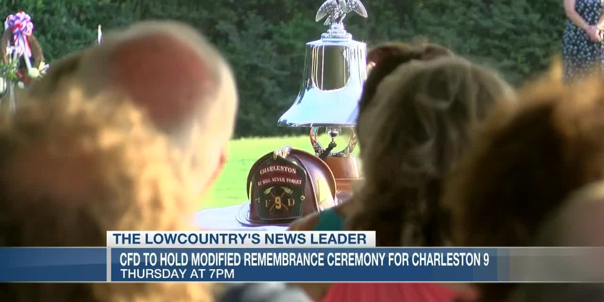 VIDEO: Charleston Fire Department to hold modified remembrance ceremony for Charleston 9