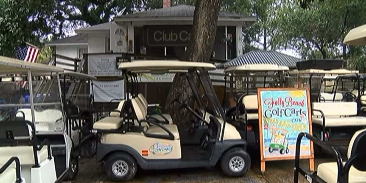 On Folly Beach, increased permit cost among several possible changes to golf cart rules