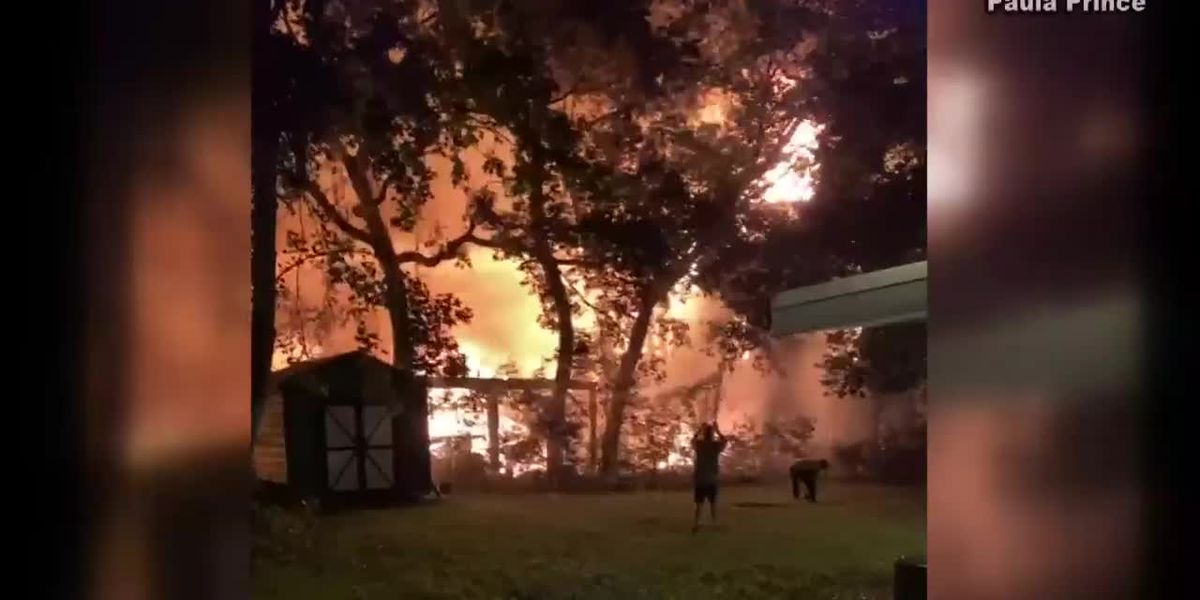 Massive fire at Ocean Lakes Campground damages 12 homes, displaces 45 people