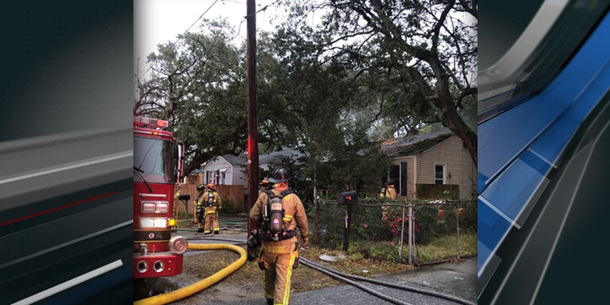 Firefighters rescue dog from North Charleston house fire