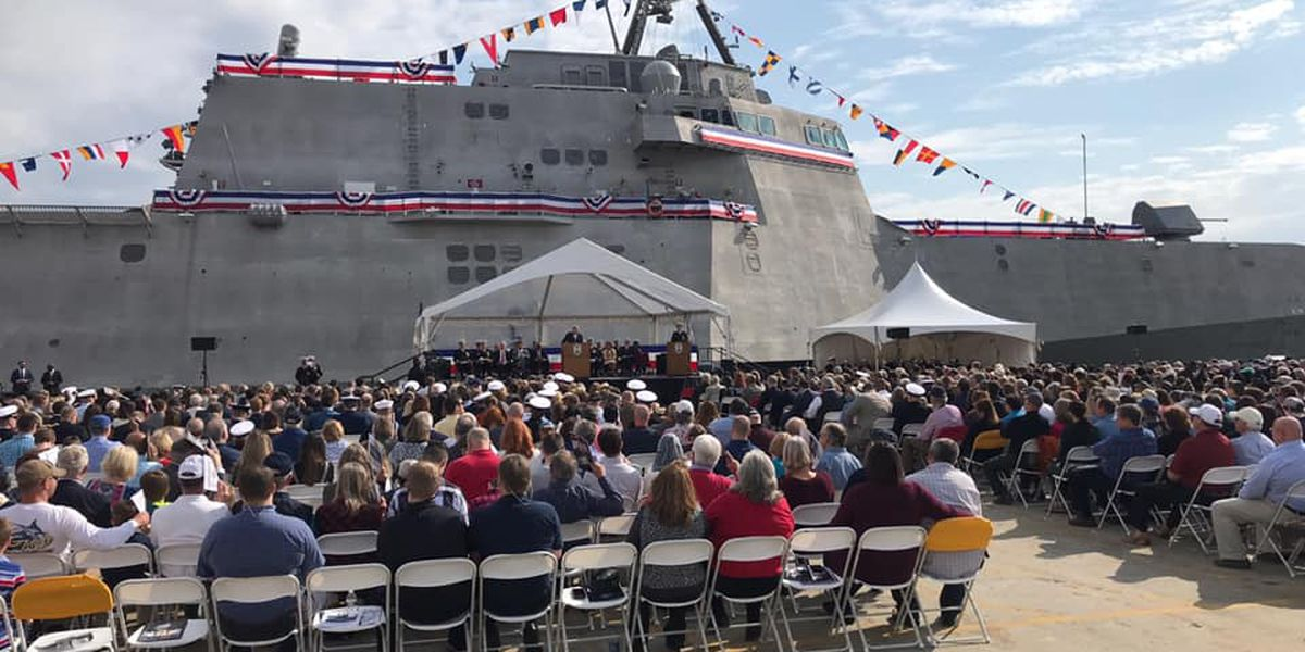 USS Charleston commission ceremony held Saturday