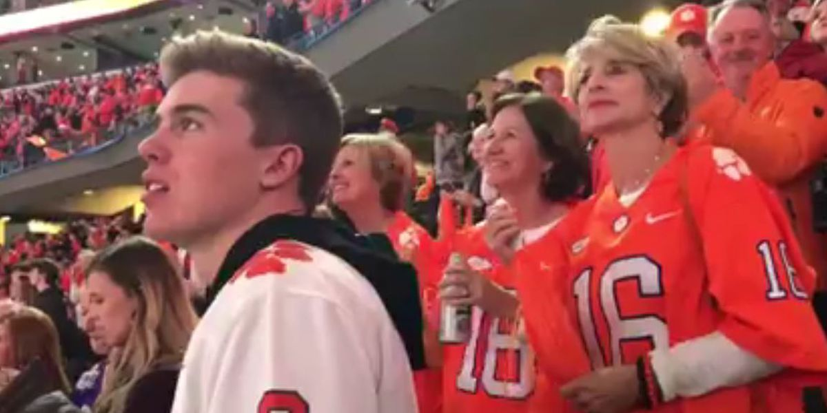 WATCH: Clemson fans react to big win in Dallas