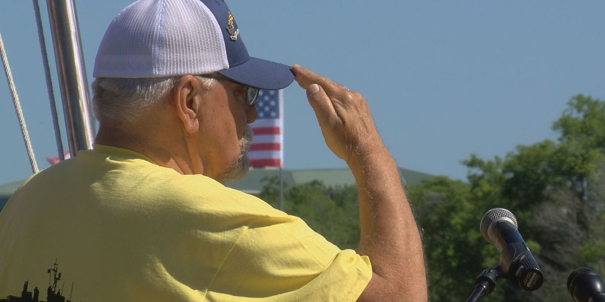 USS Laffey veterans gather to remember 32 lives lost in WWII attack