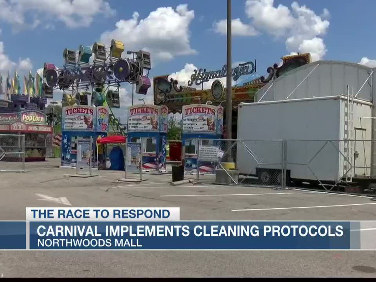 Carnival at Northwoods Mall implementing safety protocols while operating during pandemic