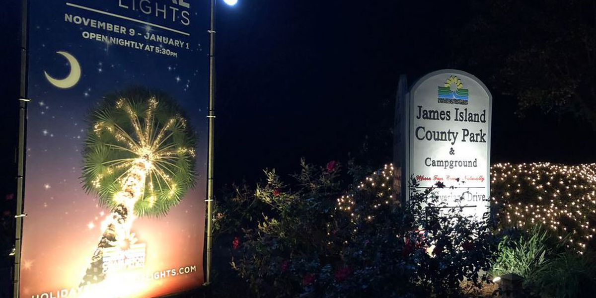 James Island Holiday Festival of Lights flips the switch Friday night