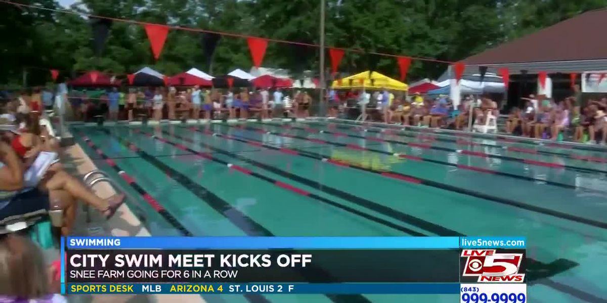 VIDEO: Snee Farm leads after Day 1 of City Swim Meet