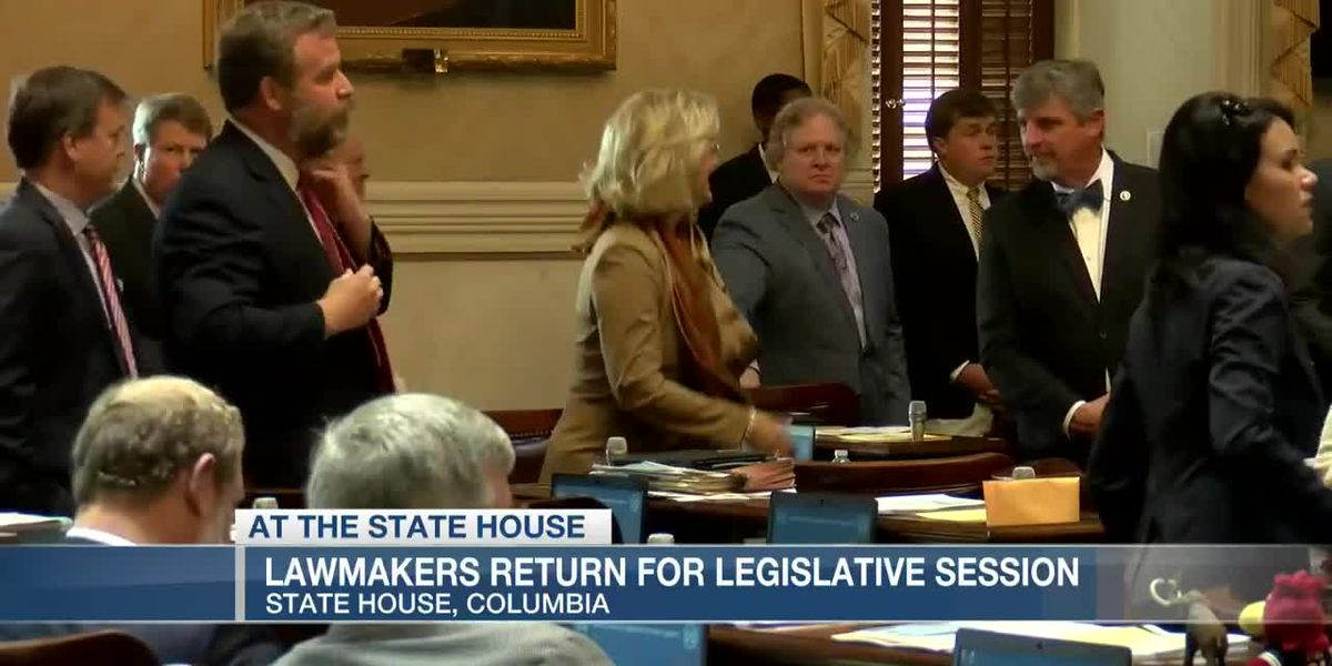 VIDEO: Lawmakers return to Columbia for start of legislative session