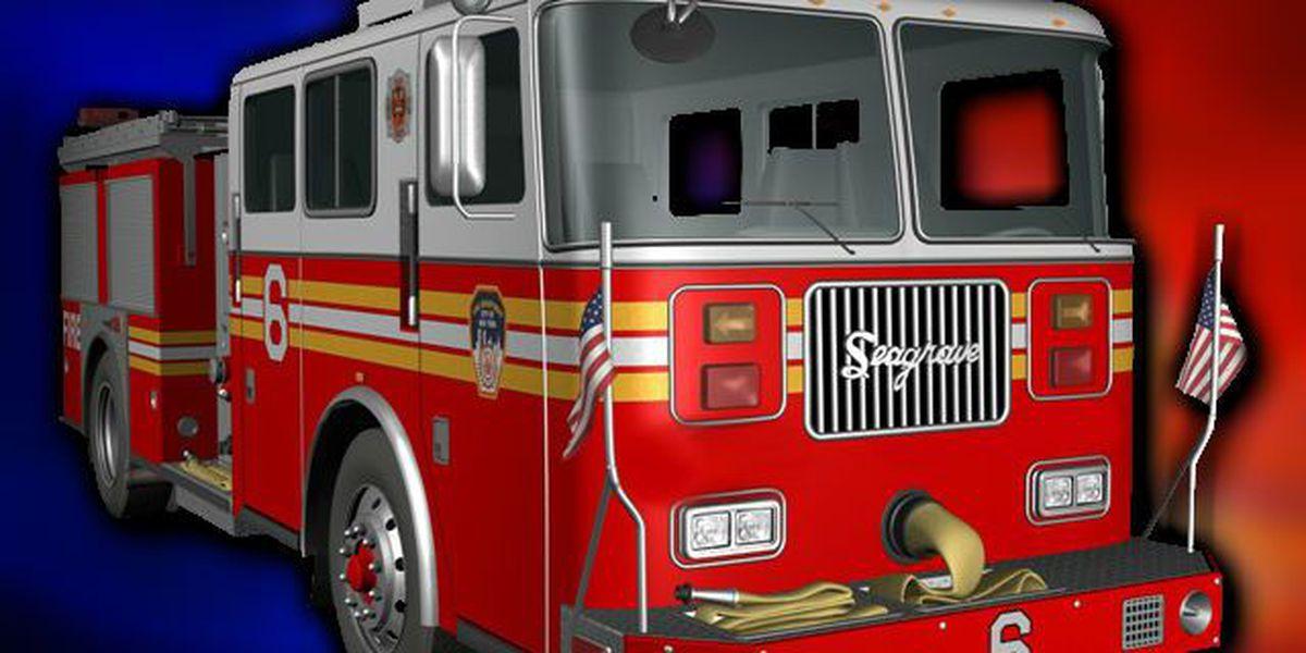 Firefighter injured battling golf club warehouse fire