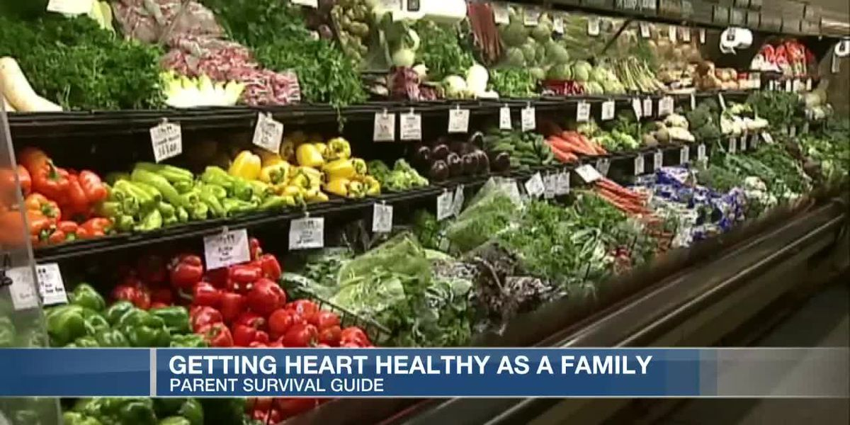 VIDEO: Parent Survival Guide: Getting heart healthy as a family