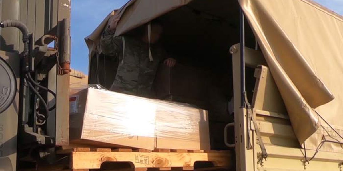 S.C. National Guard activated to deliver medical supplies