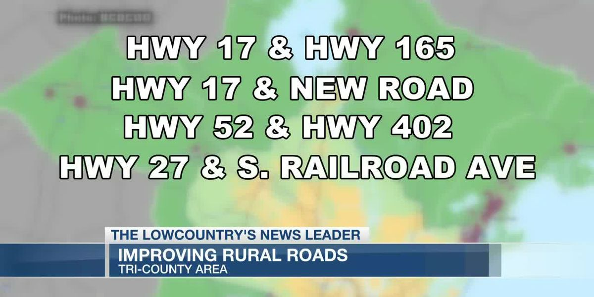 VIDEO: Improvements in the works for more Lowcountry roadways