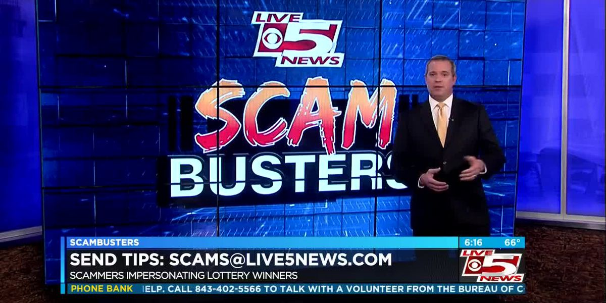 VIDEO: Live 5 Scambusters: Scammers impersonate lottery jackpot winner