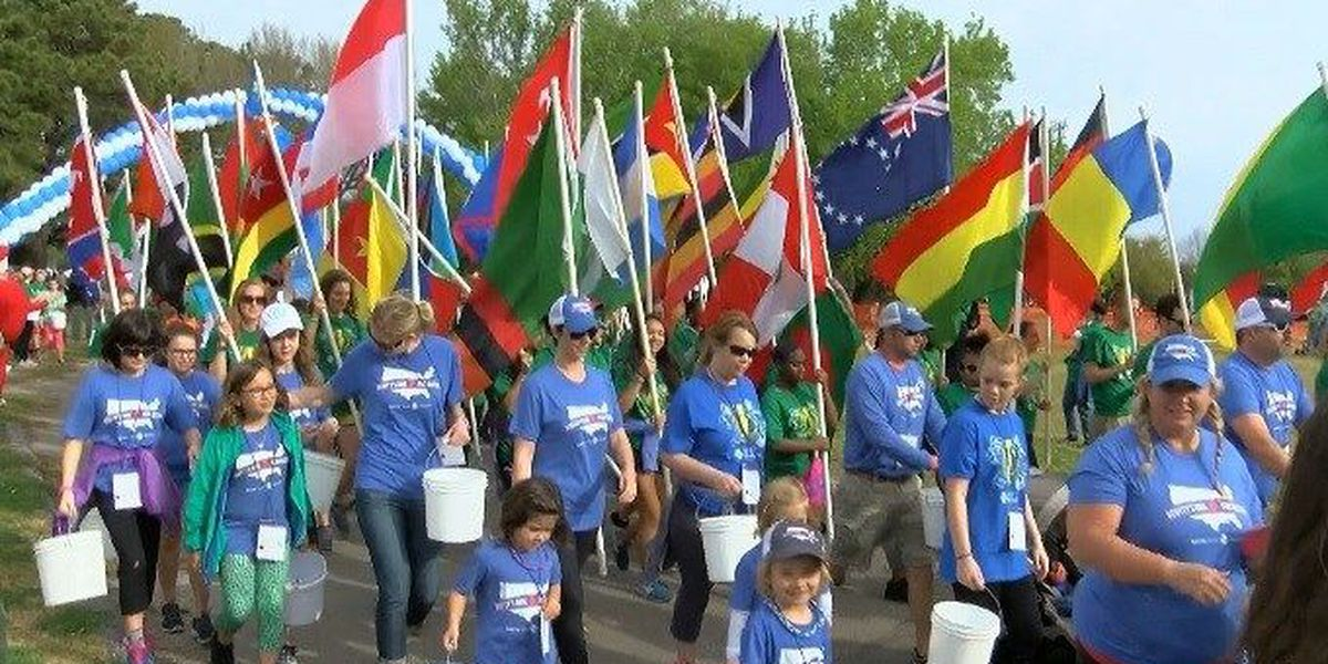 Local walk raises money for water access in developing countries