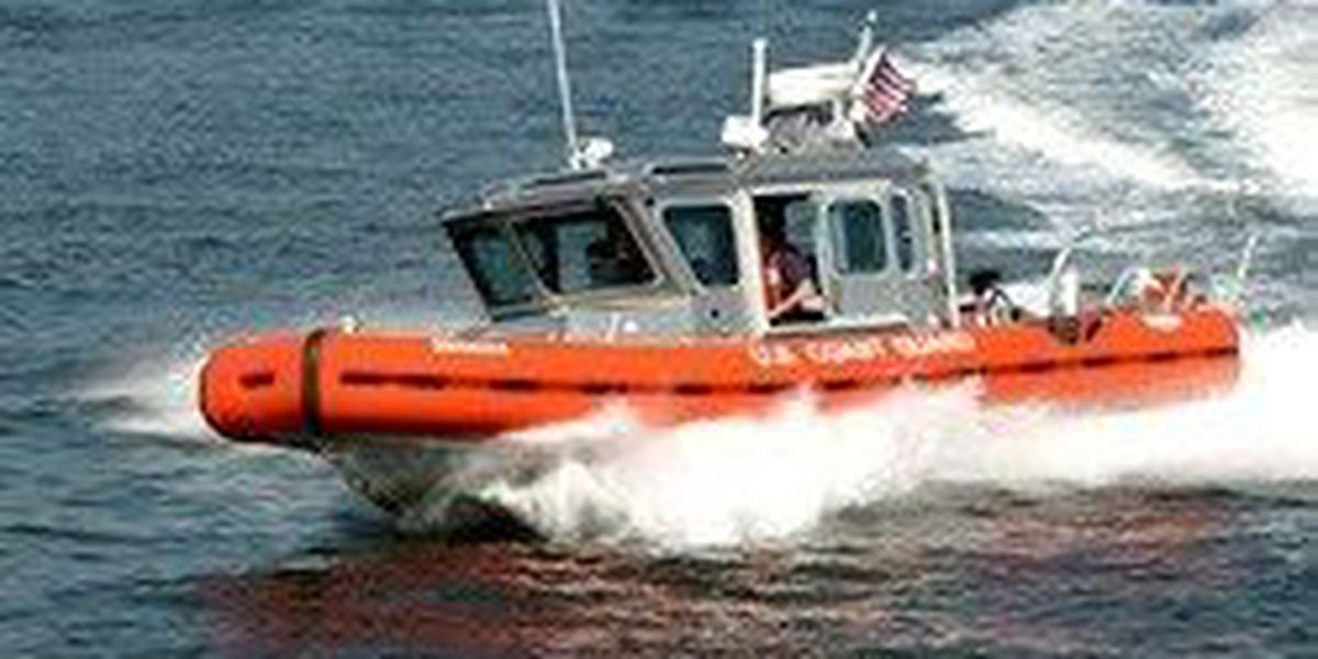Crews rescue boater after sailboat hits jetties