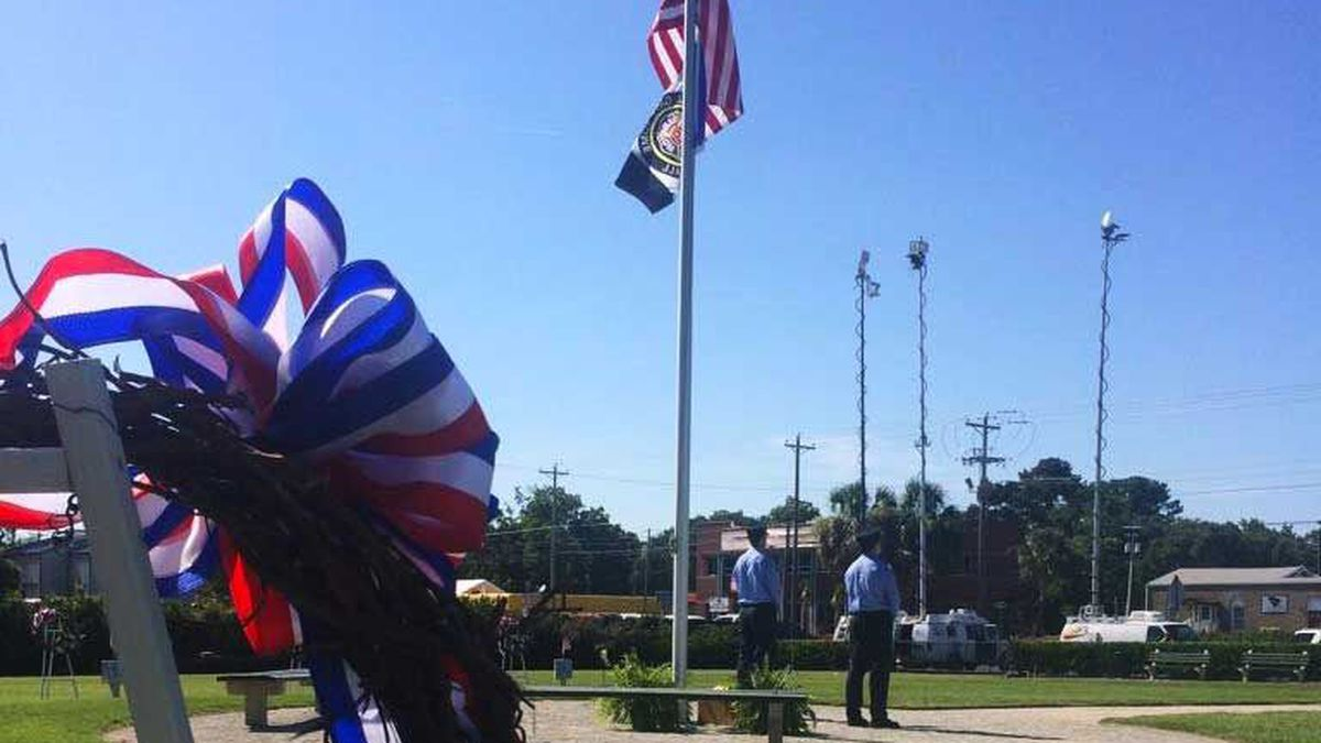 Charleston 9 ceremony held on 10th anniversary of deadly fire