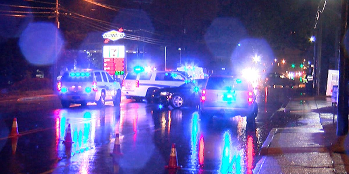 Pedestrian transported to hospital after being struck, trapped underneath vehicle