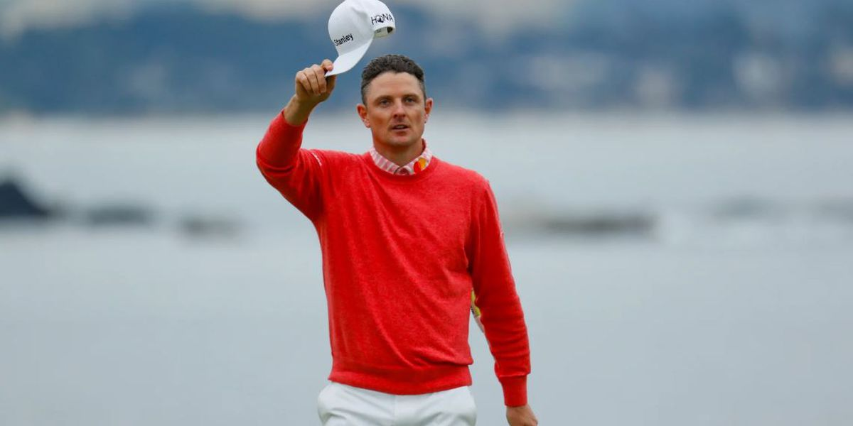 Rose opens with 65 to tie Pebble record at US Open