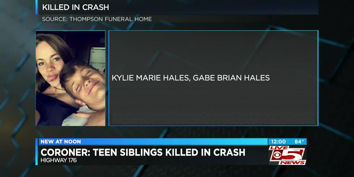 VIDEO: Coroner: 2 teenage siblings killed in Berkeley Co. crash
